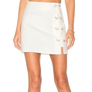 by the way. Tori Lace Up Skirt Size Small